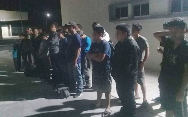 Rescatan a 26 migrantes en Camargo, Tamaulipas - Foto de El Sol de Tampico.
