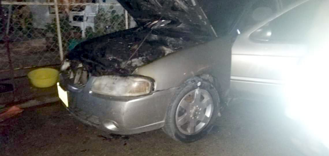 camioneta incendiada acapulco
