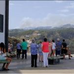 El fuego que avanza sin control en Gran Canaria