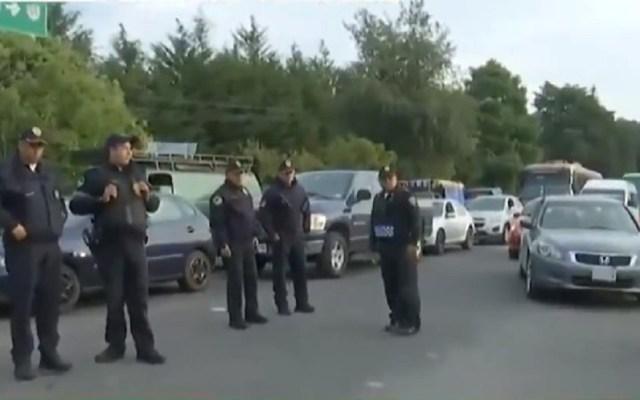 Reabren la carretera México-Cuernavaca tras 4 horas de bloqueo - Carretera México-Cuernavaca. Captura de pantalla / Foro TV