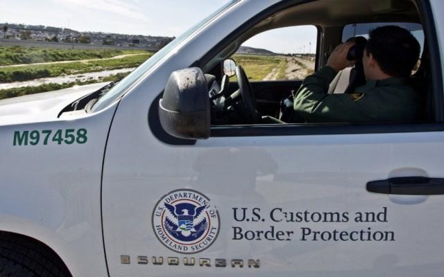 Guatemalteca muere al intentar cruzar canal en frontera entre México y EE.UU. - Foto de @CBP