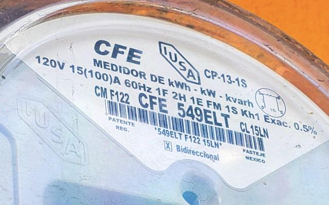CFE niega riesgo de apagones en México - CFE medidor Comisión Federal de Electricidad