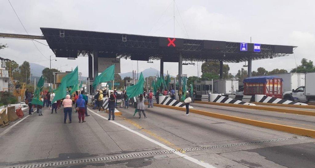 Autopistas operan con normalidad tras bloqueos de campesinos. Noticias en tiempo real