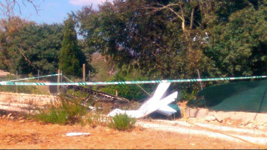 Choque entre helicóptero y avioneta en España deja siete muertos - choque helicóptero avioneta mallorca muertos