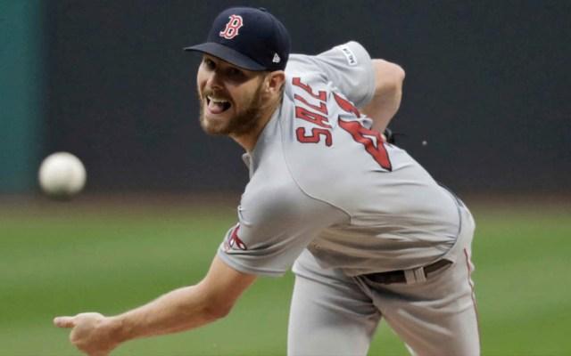 Red Sox confirman baja de Chris Sale por el resto de la temporada - Chris Sale Red Sox MLB