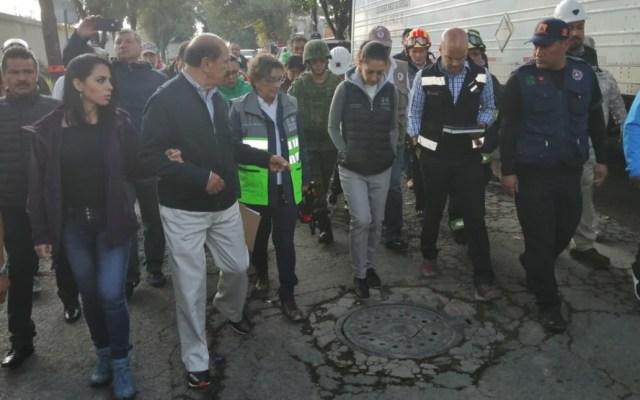Sheinbaum recorre toma clandestina asegurada en Granjas México - Claudia Sheinbaum toma clandestina Granjas México