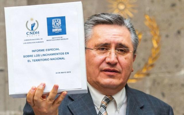 En 2019 suman 135 casos de linchamiento en México: CNDH - CNDH linchamientos México