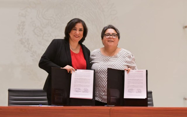 Función Pública fiscalizará compras del Gobierno Federal - Convenio de colaboración entre la SFP y la SHCP. Foto de @SFP_mx