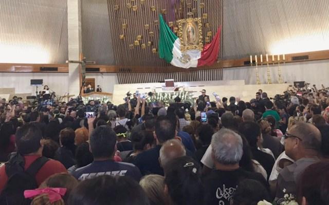 Cientos despiden a Celso Piña en Monterrey - cortejo celso piña