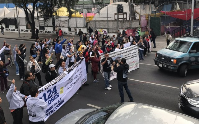 Vecinos de la Unidad Habitacional Tlalpan se deslindan de bloqueos - damnificados tlalpan
