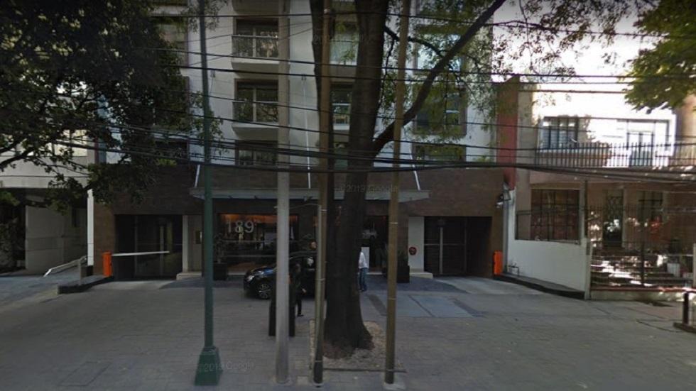 Impugnan amparo en favor de supuesto prestanombres de Javier Duarte - Departamento de Javier Duarte en Polanco. Foto de Google Maps Prestanombres