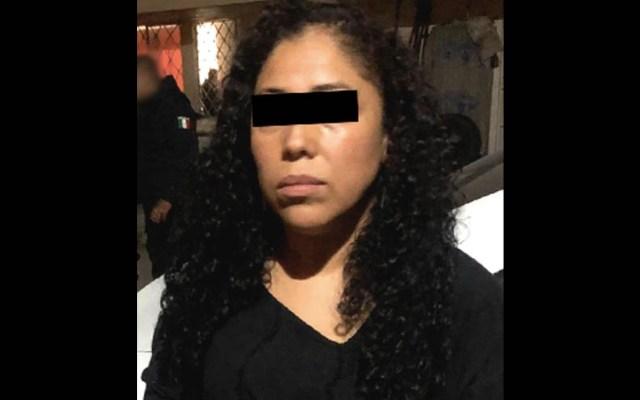 Detienen a mujer con relojes presuntamente robados en Cuautitlán - Detenida Cuautitlán. mujer robo relojes
