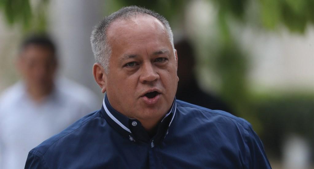 Diosdado Cabello niega que Venezuela apoye a las FARC para retomar las armas. Noticias en tiempo real