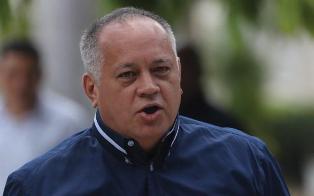 Diosdado Cabello niega que Venezuela apoye a las FARC para retomar las armas - Foto de EFE
