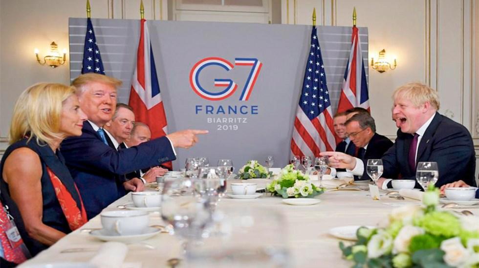 Trump promete a Boris Johnson acuerdo comercial rápido tras Brexit - donald trump boris johnson brexit