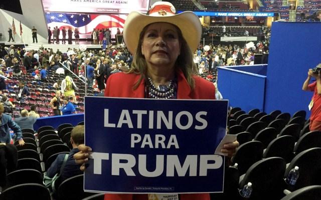 """Votantes hispanos de cinco estados se sienten """"frustrados"""" con Trump - Donald Trump hispanos latinos Estados Unidos"""