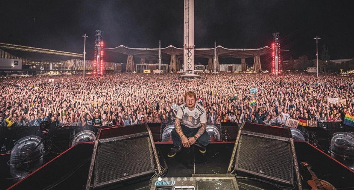 Ed Sheeran destronó a U2 con la gira más taquillera del mundo