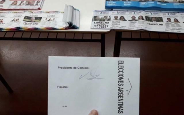 Este domingo las primarias presidenciales en Argentina - elecciones argentina primarias