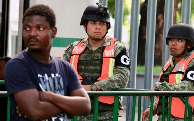 INM denuncia 'empujones y jaloneos' en estación migratoria de Chiapas - estacion migratoria tapachula chiapas