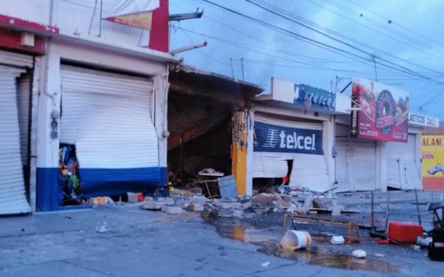 Explosión de tanque de gas en rosticería deja un lesionado - Foto de Quadratín