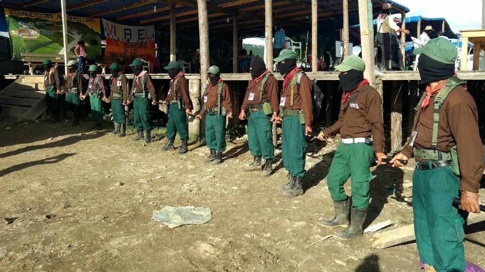 EZLN asume el control de 11 nuevos territorios en México - Foto de EFE