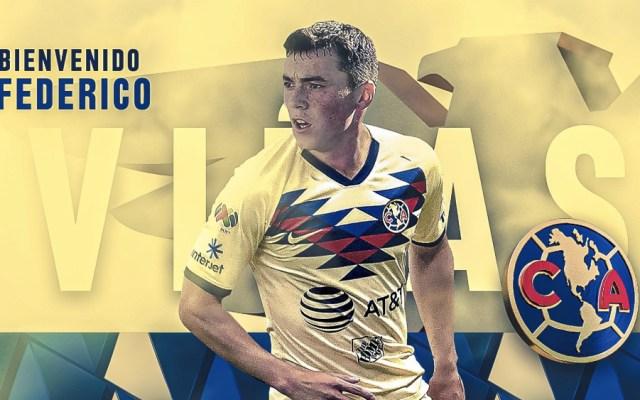 América confirma llegada del delantero Federico Viñas - Foto de @ClubAmerica