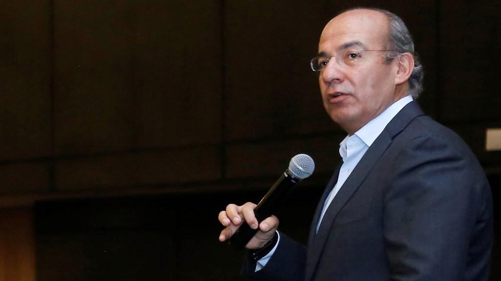 Cancela Calderón participación en el Simposio Internacional de Derecho del Tec de Monterrey - Felipe Calderón Hinojosa expresidente