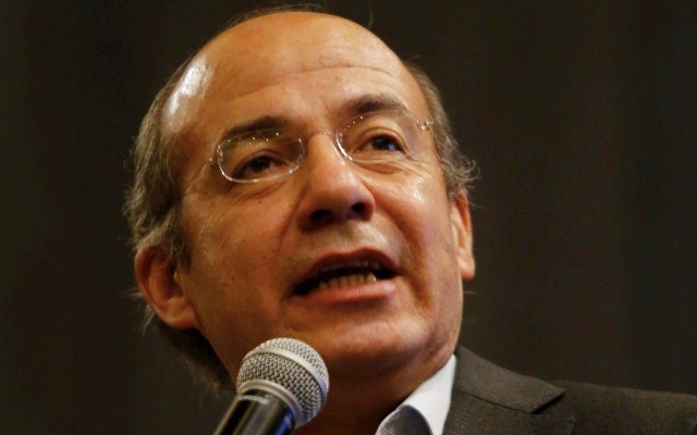Violencia en México se debe a modelo de negocio del narco: Calderón - Felipe Calderón Hinojosa expresidente