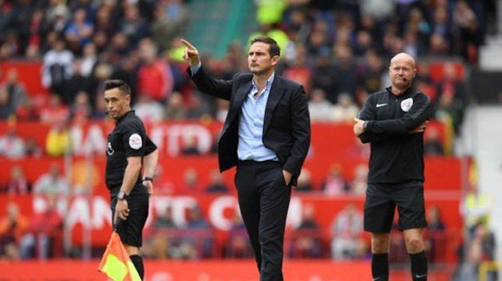 Baño de realidad a Frank Lampard; Manchester United golea 4-0 a Chelsea - Frank Lampard, técnico de Chelsea. Foto de @ChelseaFC_Sp