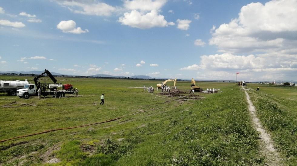 Se normalizan actividades en Nextlalpan tras fuga de gas - fuga Nextlalpan