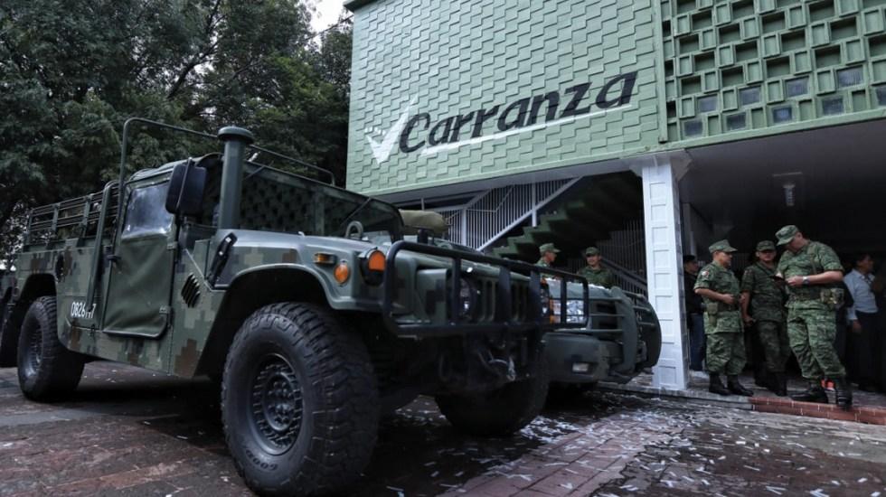 Abren cuartel de la Guardia Nacional en Venustiano Carranza - Foto de El Sol de México
