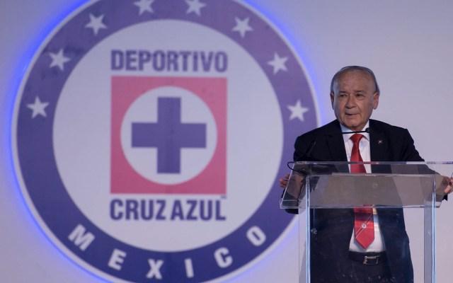 Cooperativa Cruz Azul aclara que director no ha sido destituido - Guillermo Álvarez Cooperativa la Cruz Azul