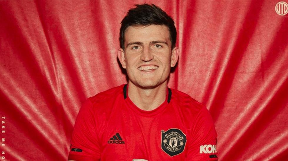 Maguire llega al Manchester United como el defensa más caro de la historia - Harry Maguire