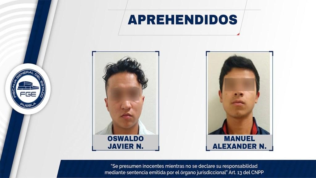 Detienen a dos hermanos por golpear y atropellar a hombre en Puebla - hermanos detenidos por golpear y atropellar a hombre en puebla