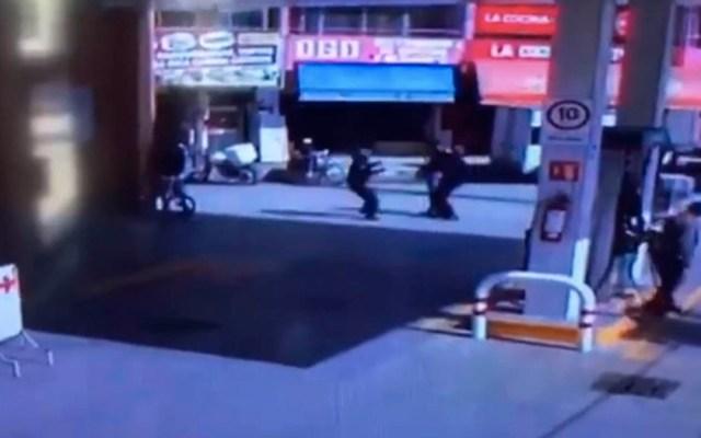 Hombre roba automóvil con arma de juguete y desata persecución en SLP - hombre roba automóvil con armade juguete en matehuala
