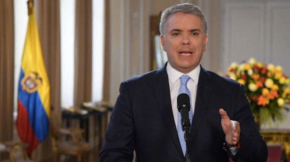 Duque asegura que no hay nuevas FARC, sino delincuentes apoyados por Maduro - Ivan Duque Colombia FARC