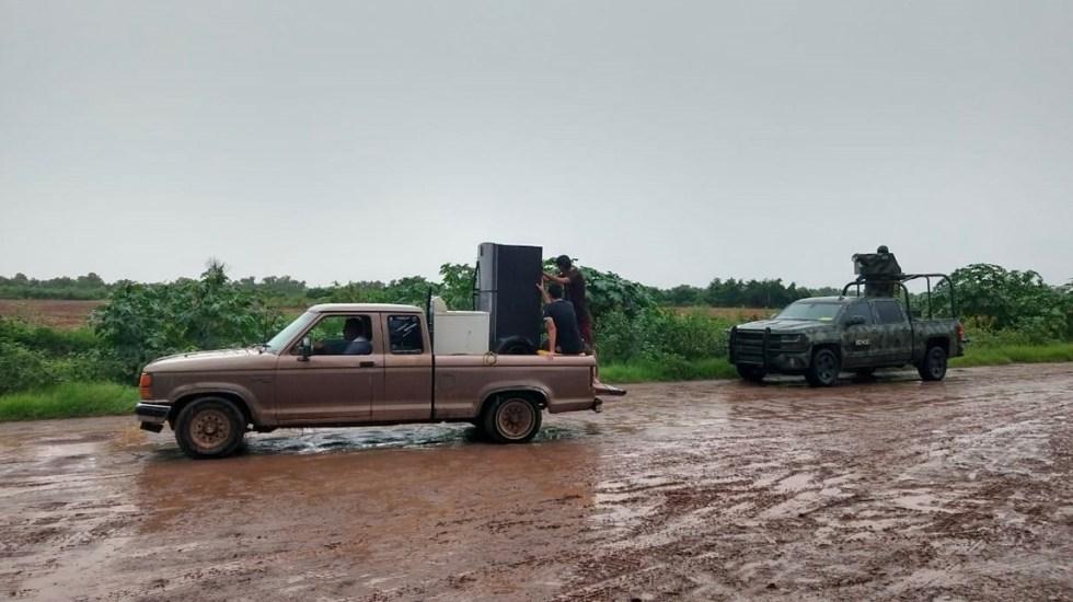Ivo pierde fuerza pero mantiene lluvias intensas en el noroeste del país - Tormenta tropical ivo