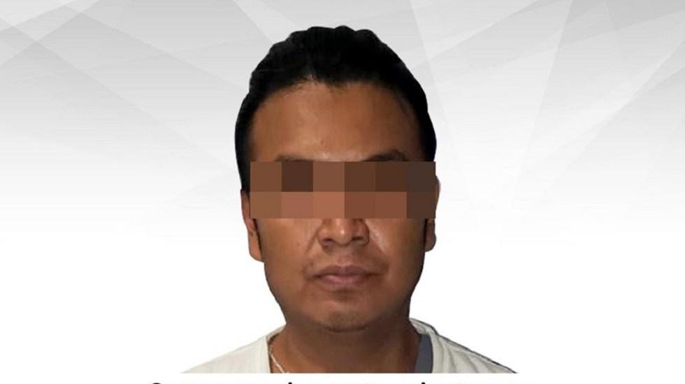 Dan prisión preventiva a presunto asesino de niña en Cuernavaca - José Alfredo N., presunto homicida de niña en Cuernavaca. Foto de @FiscaliaGeneralMorelos