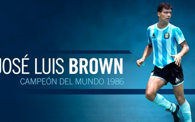 Murió José Luis 'Tata' Brown, campeón con Argentina en 1986 - jose luis tata brown