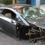Lamborghini chocado en la Roma fue robado en Jalisco