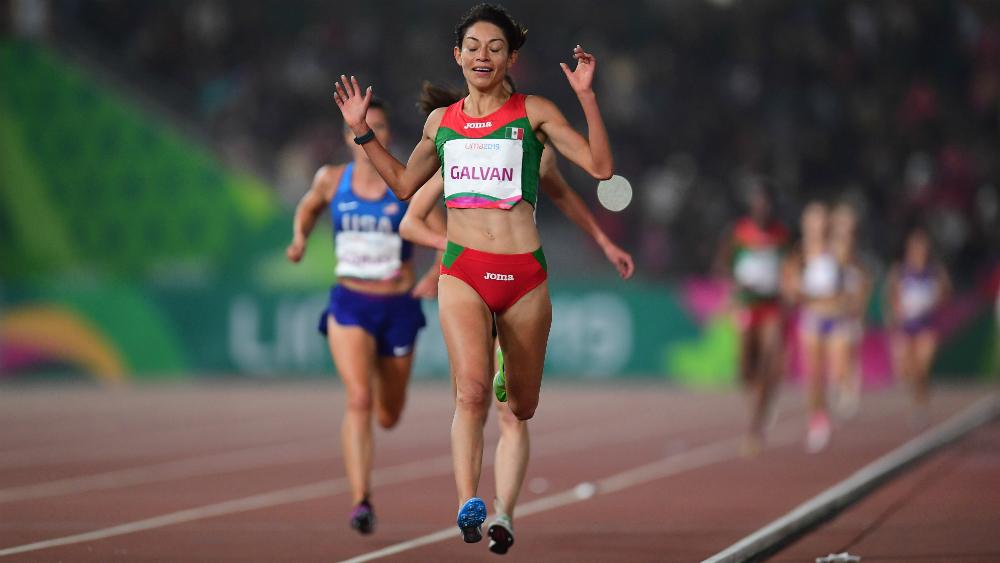Laura Galván se repone y consigue oro 29 para México en Lima 2019 - Foto de Mexsport