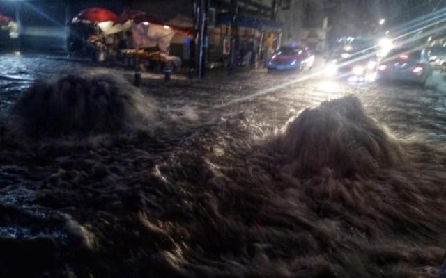 Alerta Naranja por lluvia este miércoles en la Ciudad de México - Foto de @JerrxG13