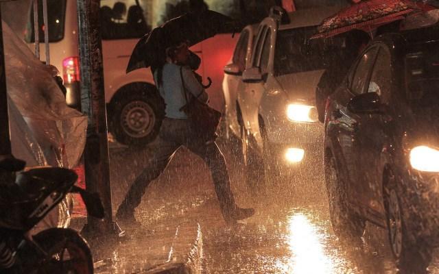 Continúa la lluvia en 12 alcaldías de la Ciudad de México - Lluvia Ciudad de México tormentas