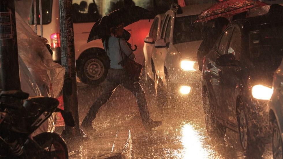 Alerta Amarilla por lluvia y granizo en 10 alcaldías de la Ciudad de México - Lluvia Ciudad de México tormentas