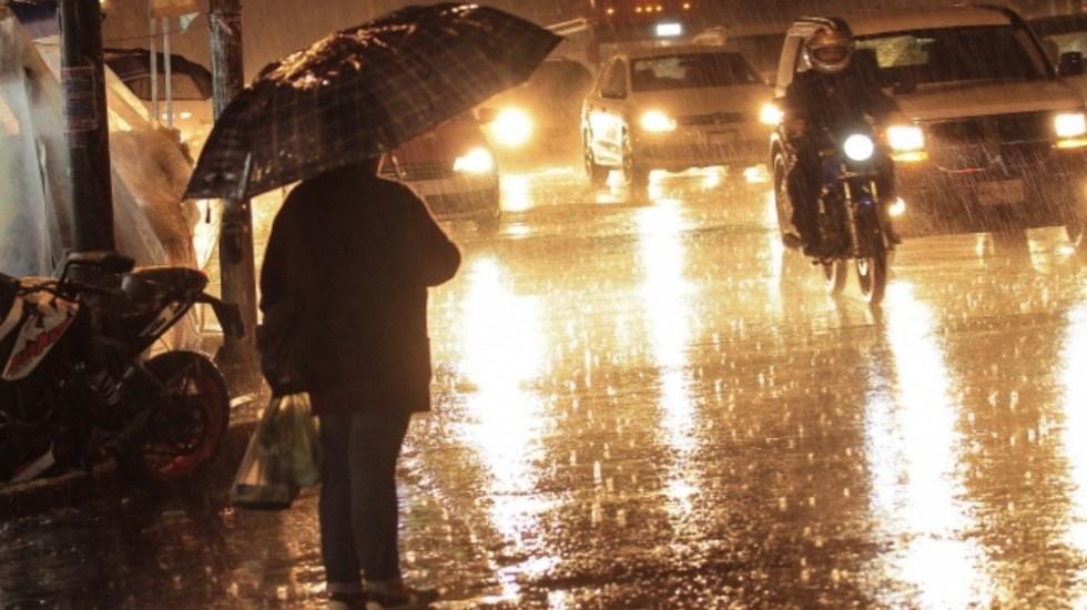 Alerta Amarilla por lluvia este sábado en nueve alcaldías - lluvias