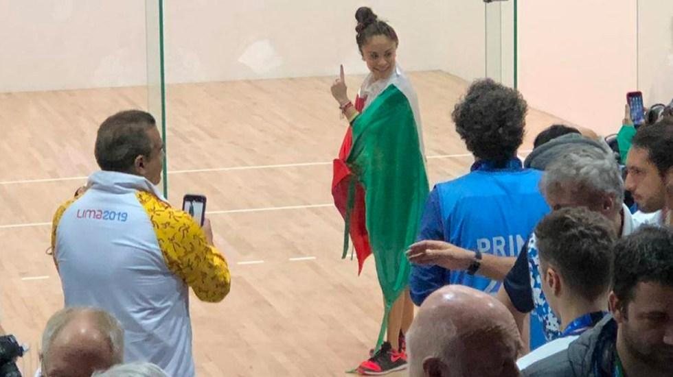 Paola Longoria se convierte en tricampeona en losPanamericanos - Longoria
