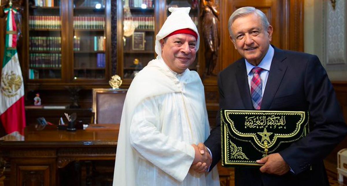 López Obrador recibe cartas credenciales de nuevos embajadores