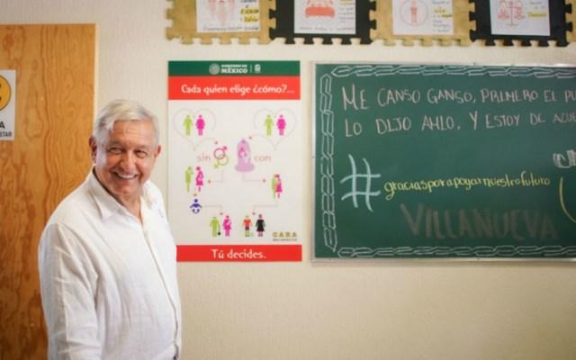 Presidente no será tapadera ni motor de corrupción: López Obrador - Foto de Presidencia de la República