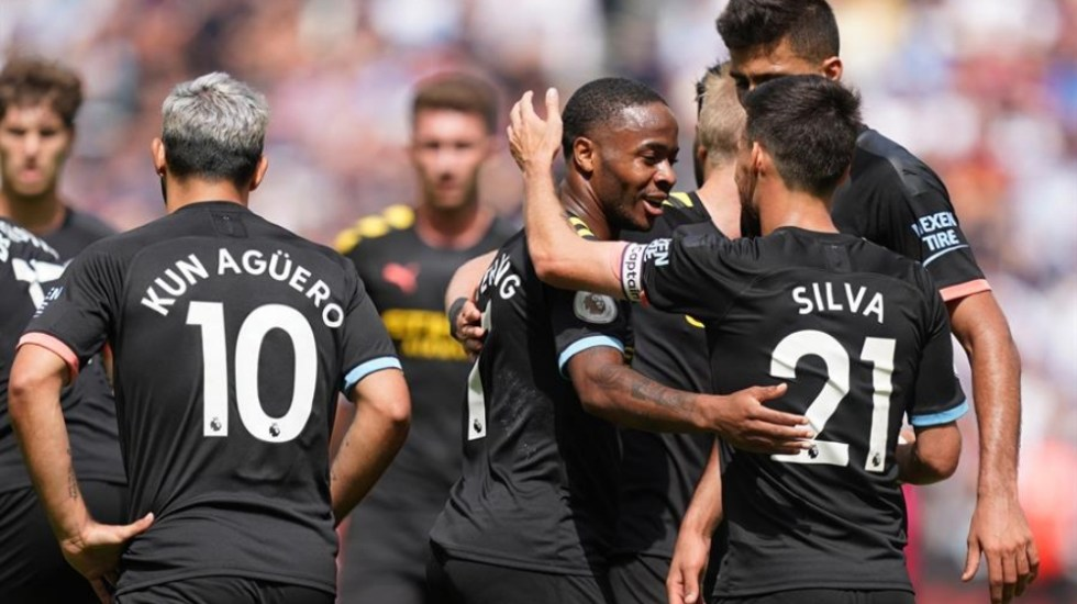 Manchester City inicia la Premier goleando al West Ham - Manchester City west ham
