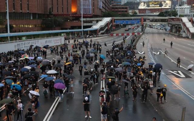 Manifestantes retoman Hong Kong por noveno fin de semana consecutivo - manifestantes hong kong